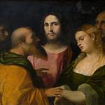 Le Christ et la femme adultère, Palma le Vieux, Pinacothèque des musée du Capitole, Rome, 2020 - https://www.flickr.com/people/29248605@N07/