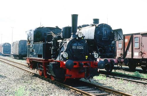 DR 89 6024 (ex  Raw DSF Görlitz Werklok 1 [II]; ex Kleinbahn AG Bebitz - Alsleben 269; ex Kleinbahn-AG Erfurt - Nottleben 2; ex Kyffhäuser Kleinbahn AG 41; Henschel 1914; Typ