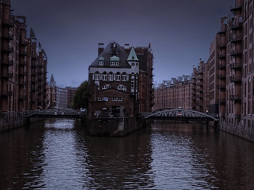"The moated castle of Hamburg! ☆ ""Thanks for the Flickr explore"""