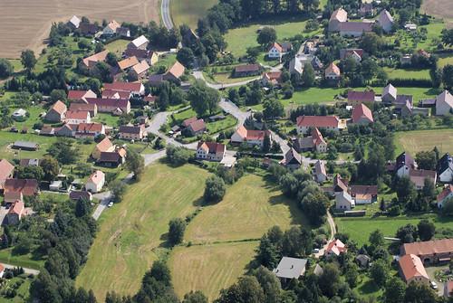 Luftbild Meschwitz 2009