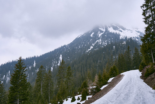 Path with Mountain