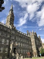 Healy Hall and sky, Georgetown University, Washington, D.C.