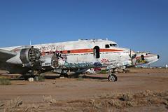 N44904, DC 4/C 54, Chandler memorial airport   Arizona