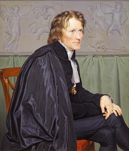 """Bertel Thorvaldsen"" de C. W. Eckersberg (Petit Palais, Paris)"