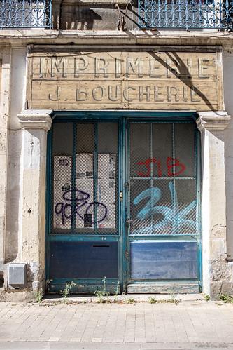 Imprimerie ou... Boucherie ?