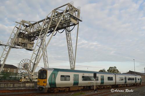 Irish Rail 2813/ 2814 Limerick Colbert Railway Station.