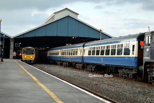 RPSI Western Explorer Limerick Colbert Railway Station.