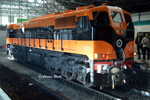 Irish Rail GM 071 Limerick Colbert Railway Station.