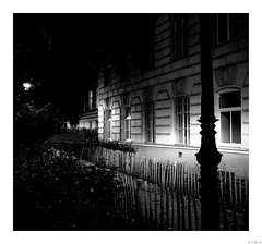 A night walk in Vienna.