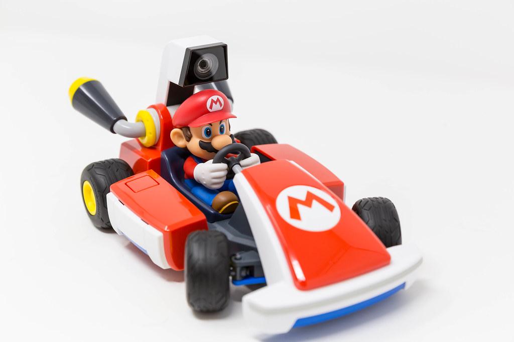 Mario Kart Live Home Circuit: Das Nintendo Switch-System verwenden, um ein echtes Mario Kart zu steuern