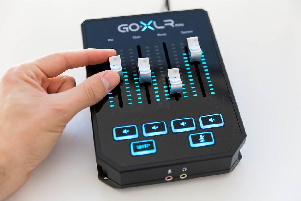 GoXLR Mini: Mixer & USB Audio Interface für Streamer, Gamer & Podcaster