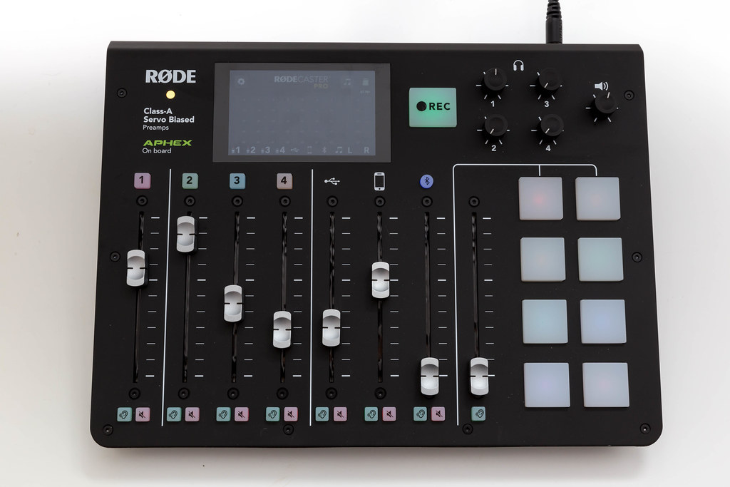 RØDECaster Pro podcast production studio: it makes professional podcasting easy
