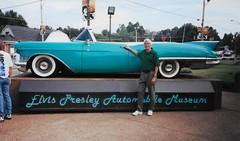 Elvis Presley's 1950's Convertible, Memphis Tennessee