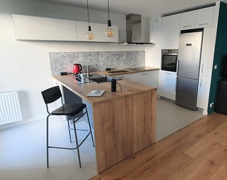 Projet chene cartier Nantes - cuisine