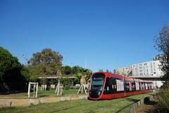 Alstom Citadis X 05 n°046  -  Nice, LIGNES D'AZUR