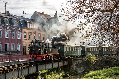 Running through Oschatz