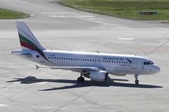 Airbus A319 Bulgaria Air LZ FBA ZRH Zurich Airport S…