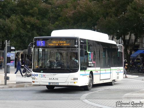 MAN Lion's City CNG - 1520 / KBM