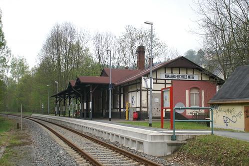 Bahnhof Annaberg-Buchholz Mitte 16-05-2010