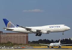 United Airlines 747 400 N122UA