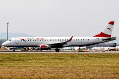 OE LWD | Austrian Airlines | Embraer ERJ 195LR (ERJ …