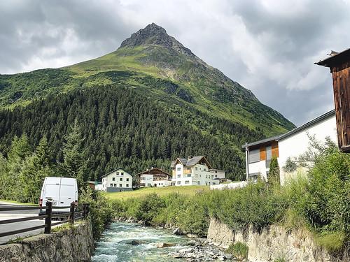Gorfenspitze and Jambach in Galtür