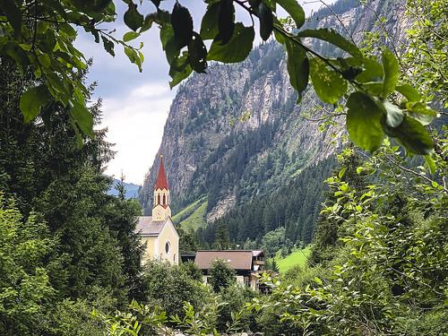 Ginzling church
