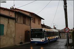 Heuliez Bus GX 317 – CAP Pays Cathare (Transdev) n°73020 / Tisséo n°7310, ex Semvat (Société d'Économie Mixte des Voyageurs de l'Agglomération Toulousaine) / Tisséo n°9919