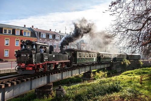 Crossing the Döllnitz