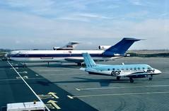 N368PA Boeing 727-221(Adv)(F) Express One Luton 11.96