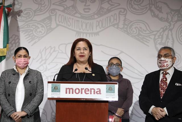 19/10/2020 Conferencia De Prensa Dip. Dulce Maria Corina Villegas