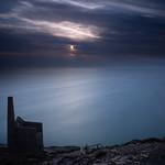 Wheal Coates Cornwall at Dusk by Eric Cheek