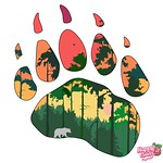 Forest Paw Print by Flamekit