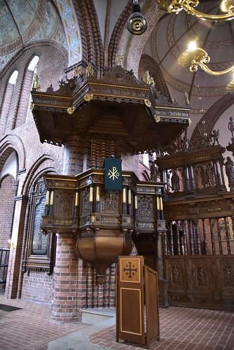 Johannes-Kirche - Kanzel; Meldorf, Dithmarschen (67)