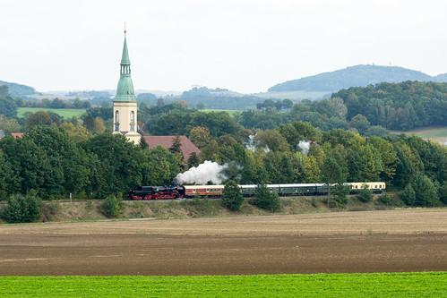51 8141 auf der Rückfahrt bei Oberoderwitz