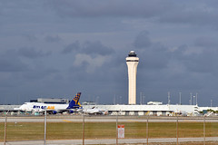 MIA AIRPORT FROM SPOTTING POINT