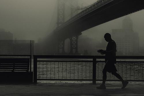 chinese man running