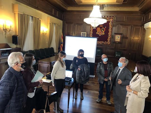 Presentación al Justicia del Programa ACOMPAÑANDO Teruel