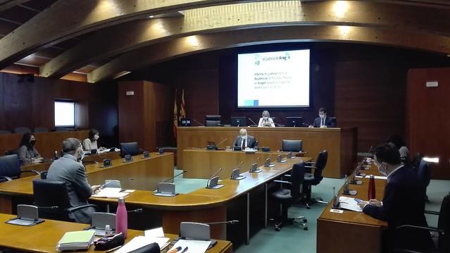 Comparecencia del Lugarteniente en la Comisión de Estudio de las Residencias de Mayores