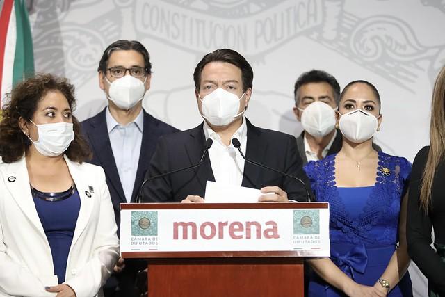 20/10/2020 Conferencia De Prensa Dip. Mario Delgado