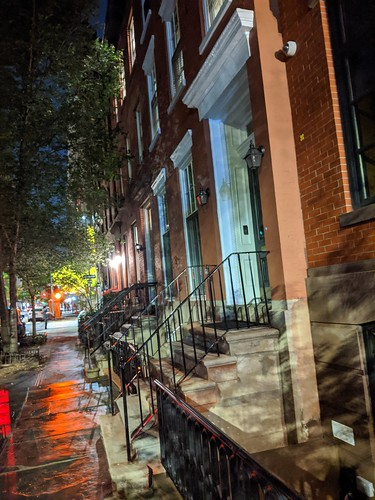 Greenwich Village Stoops I