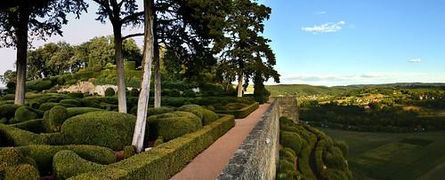 France - Périgord - jardins de Marqueyssac
