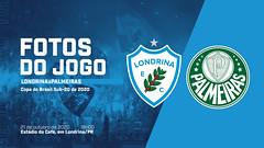 21-10-2020: Londrina x Palmeiras | Copa do Brasil Sub-20