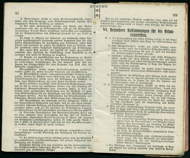 Photo:ArchivTappenZ26Album y, Militärpaß, WWI 1914-1918 By Hans-Michael Tappen