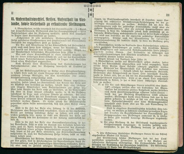 Photo:ArchivTappenZ24Album y, Militärpaß, WWI 1914-1918 By Hans-Michael Tappen