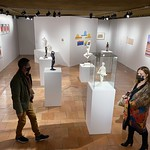 """Inauguration de l'exposition """"Danse, danse avec la lune"""" au Musée Despiau-Wlérick de Mont-de-Marsan"""