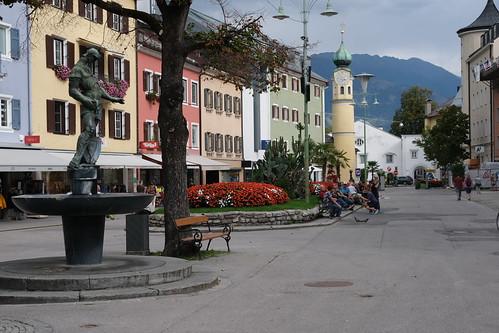 Hauptplatz Lienz in Osttirol