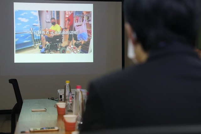 Photo:10.20 副總統參訪「社團法人臺灣視障協會附設『愛 幸福庇護工場』」 By Taiwan Presidential Office