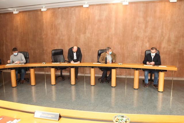 Photo:21.10.2020 Mesa y Junta de Portavoces By Cortes de Aragón