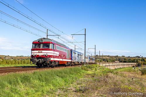 21 octobre 2020 BB 67611-2127-2126-2129-96219 Train 471642 Montauban-Ville-Bourbon -> Bordeaux-Hourcade Langon (33)